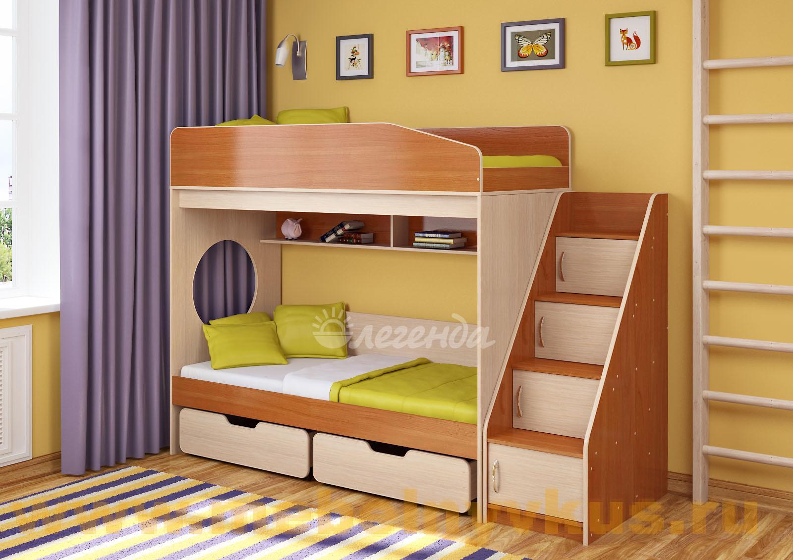 Двухъярусные кровати для подростков фото