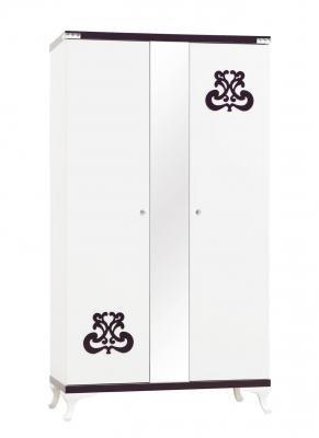 Шкаф 2-х дверный с зеркалом C100-1