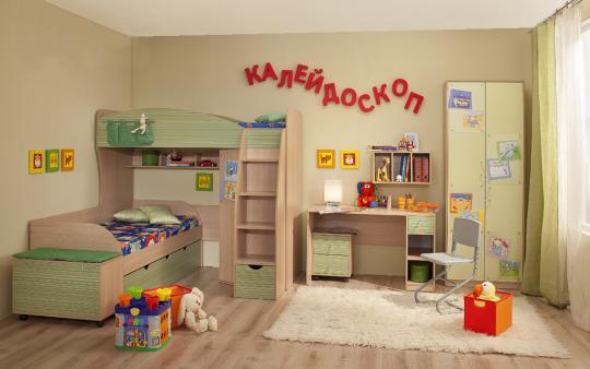 Детская комната Калейдоскоп-3
