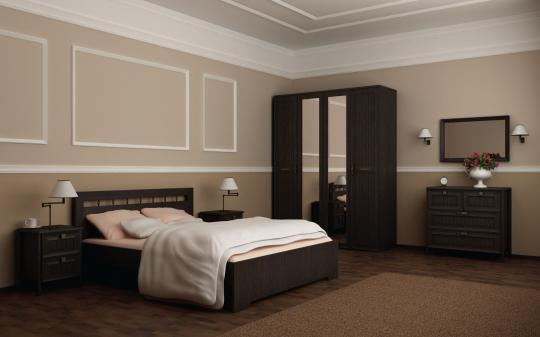 Спальня Соната (цвет венге)-1