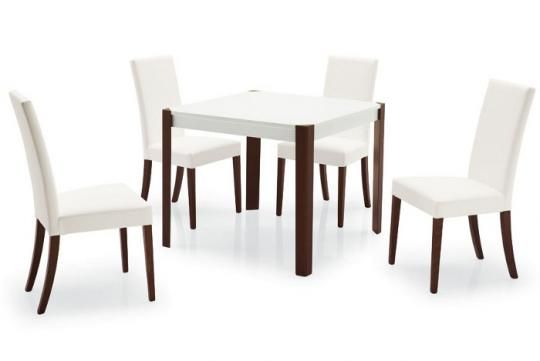 Стул деревянный COPENHAGEN венге / белый-3