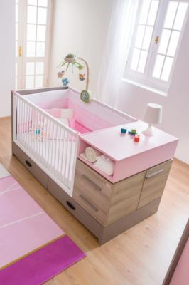 Комната для новорожденных Pink Birdy-1