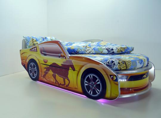 Детская кровать Мустанг Премиум-8