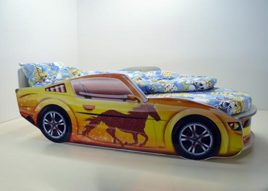 Детская кровать Мустанг Премиум-7