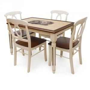 Стол обеденный ДУБАЙ CT 3045 LEG H-1