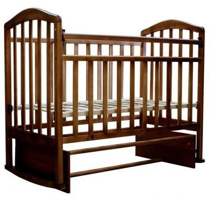 Кроватка-маятник Алита-3-2