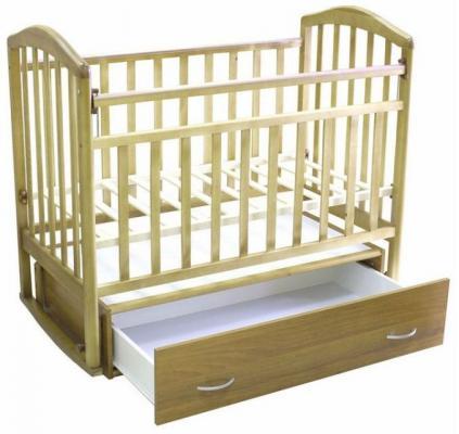 Детская кроватка-маятник Алита-4-1