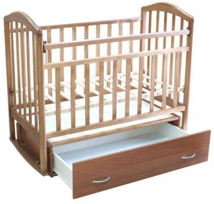 Детская кроватка-маятник Алита-4-3