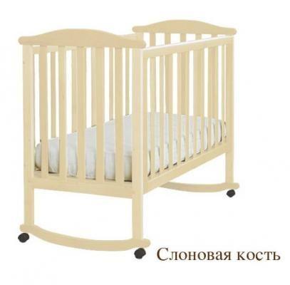 Кроватка АБ 15.0 Лютик-3
