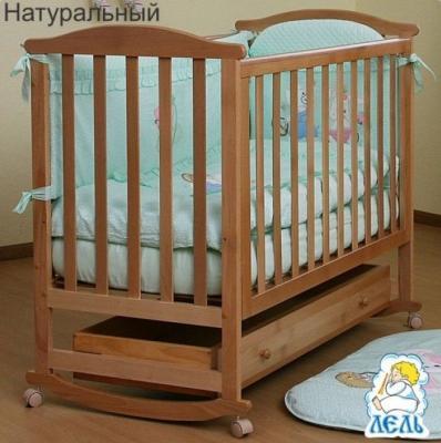 Кроватка АБ 15.1 Лютик с ящиком-2