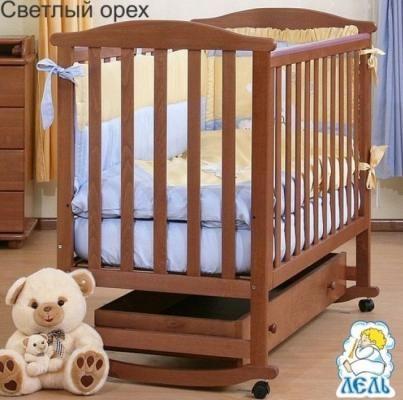 Кроватка АБ 15.1 Лютик с ящиком-1