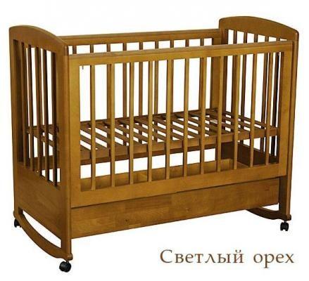 Кроватка АБ 16.1 Ромашка-2