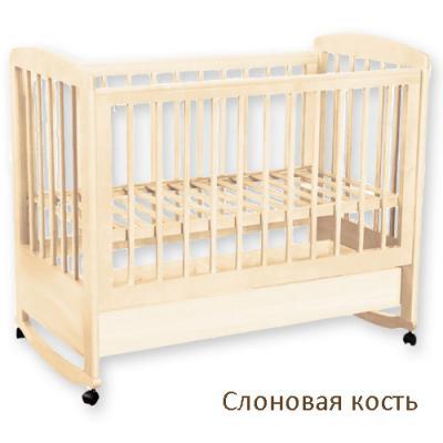 Кроватка АБ 16.1 Ромашка-1