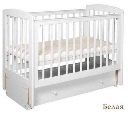 Кроватка АБ 16.3 Ромашка-4