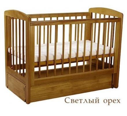 Кроватка АБ 16.3 Ромашка-2