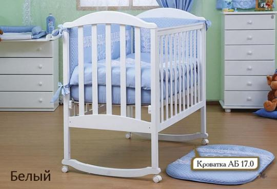 Кроватка АБ 17.0 Лилия-2