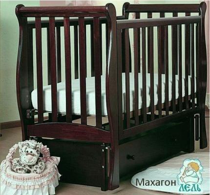 Кроватка АБ 21.3 Лаванда-3