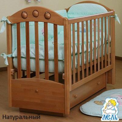 Кроватка АБ 24.2 Орхидея-1