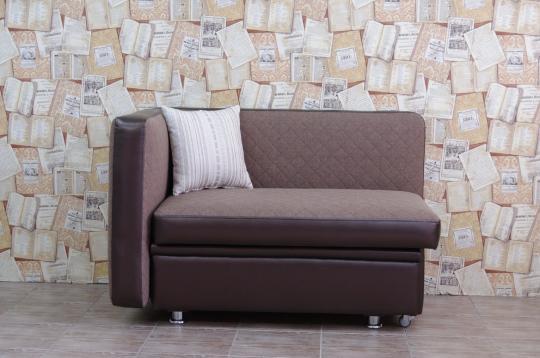 Кухонный диван Полонез с боковой стенкой и спальным местом-1
