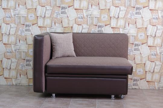 Кухонный диван Полонез с боковой стенкой и спальным местом-2