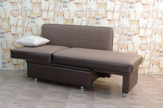 Кухонный диван Полонез с боковой стенкой и спальным местом-5
