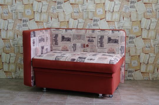 Кухонный диван Полонез с боковой стенкой и спальным местом-6
