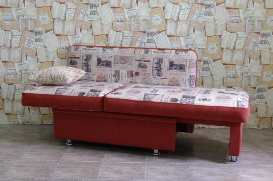 Кухонный диван Полонез с боковой стенкой и спальным местом-7
