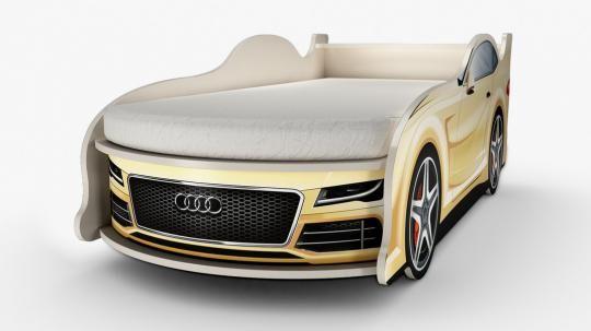 Кровать-машина Ауди (мини)-1