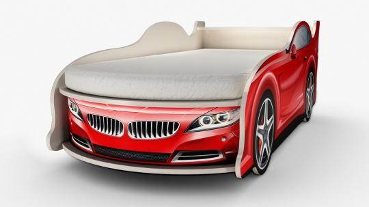 Кровать-машина БМВ (мини)-1