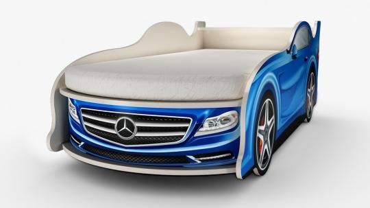 Кровать-машина Мерседес (мини)-1