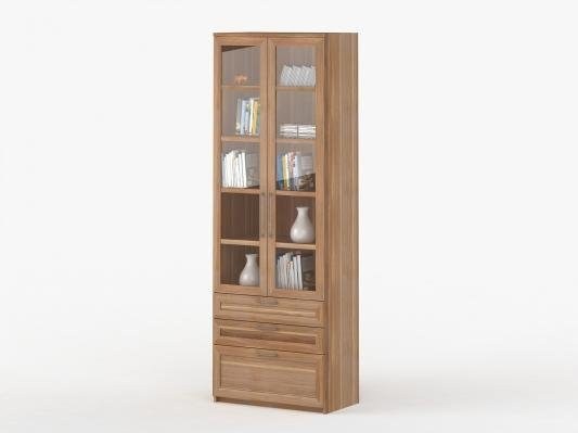 Шкаф 2-дверный с ящиками Соло 054-7