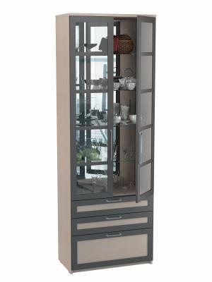 Шкаф двухдверный с ящиками (Соло 056)-3