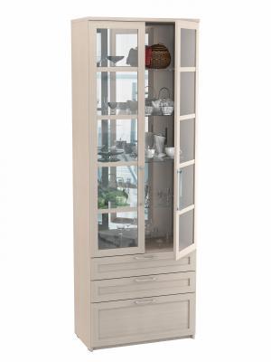 Шкаф двухдверный с ящиками (Соло 056)-4