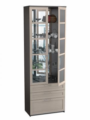 Шкаф двухдверный с ящиками (Соло 056)-2