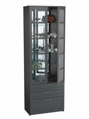 Шкаф двухдверный с ящиками (Соло 056)-1