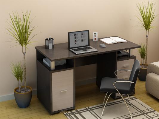 Письменный стол двухтумбовый (ПС 40-07)-4
