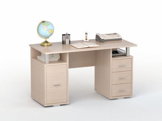 Письменный стол двухтумбовый (ПС 40-07)-1