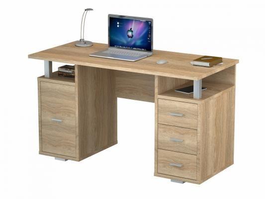 Письменный стол двухтумбовый (ПС 40-07)-6