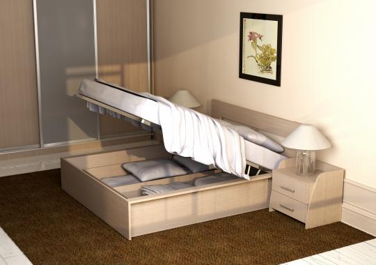 Кровать 140/160 КР 70-01 М2 (с основанием, без матраса)-2