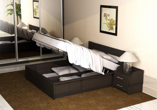 Кровать 140/160 КР 70-01 М2 (с основанием, без матраса)-1