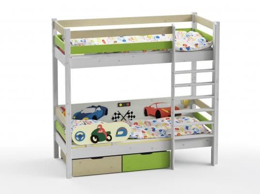 Двухъярусная кровать Wood Fantasy GSE-7082-4
