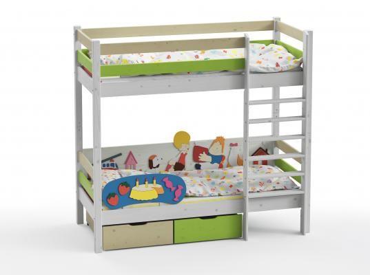 Двухъярусная кровать Wood Fantasy GSE-7082-2