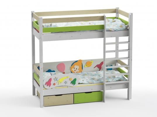 Двухъярусная кровать Wood Fantasy GSE-7082-1
