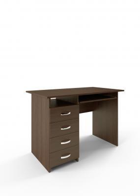 Компьютерный стол Милан-3 с полкой для клавиатуры-3