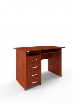 Компьютерный стол Милан-3 с полкой для клавиатуры-2
