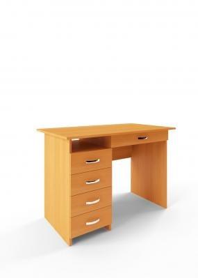 Компьютерный стол Милан-1 с надставкой -1