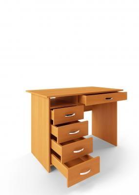 Компьютерный стол Милан-1 с надставкой -2
