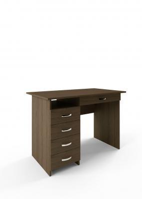Компьютерный стол Милан-1 с надставкой -6
