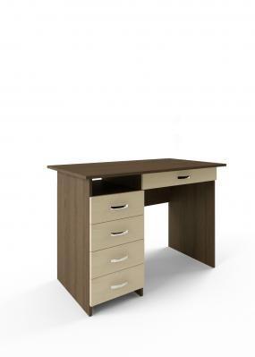Компьютерный стол Милан-1 с надставкой -8