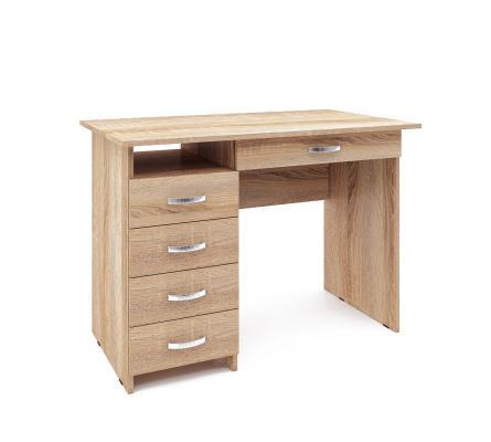 Компьютерный стол Милан-1 с надставкой -10